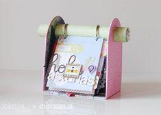 MemoryDex for Basic Crea Mini Albums, Diy Mini Album, Mini Scrapbook Albums, Scrapbook Paper Crafts, Craft Gifts, Diy Gifts, Stick Art, Scrapbook Embellishments, Studio Calico