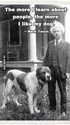 Mark Twain made a point