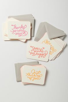Get grateful with these adorable thank-you notes