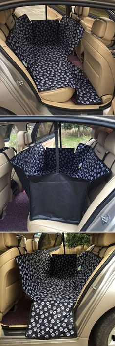 A great idea, especially to keep your pup safe and your seats fur free