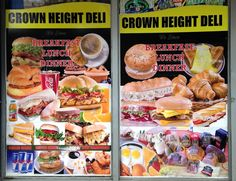 Crown Heights Deli & Grocery. 117 Rogers Ave. Brooklyn, New York (Photo by Ben H. 5/19/14)