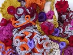 Dr. Axt | Crochet Coral Reef