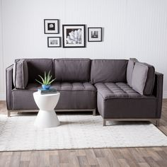 Ink+Ivy Grant Modular Sectional | Overstock.com Shopping - The Best Deals on Sectional Sofas