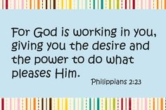 ✝ God is working...