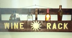 Sunshine Wine Rack