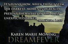 Karen Marie Moning Dreamfever Mac Mackayla Lane