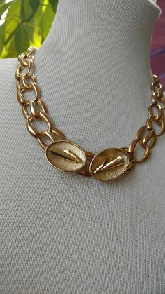 sale gold necklace//  jewellery// upcycled by truthorwear on Etsy