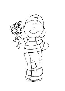 Free Dearie Dolls Digi Stamps: Be My Valentine