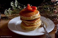 Pancakes for breakfast, a perfect way to start any day, especially lazy weekend mornings.