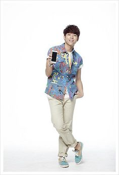 INFINITE ♡ Sunggyu, Dongwoo, Woohyun, Hoya, Sungyeol, L, and Sungjong -  [CF] Samsung Galaxy Player