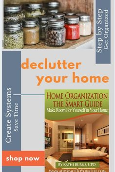 Discover how to get started offering the fastest and easiest method for getting immediate results and reducing the stress of a home filled with clutter and chaos. . . This comprehensive book is for busy moms, full-time employees, entrepreneurs and EVERY