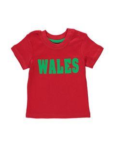 Wales T-Shirt | Baby | George at ASDA £2