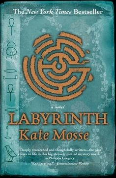 Labyrinth by Kate Mosse.  A tale that takes place in the past and present to illuminate the reader bit by bit until the final secrets of the story are revealed.