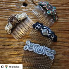 peinecillo Bracelets, Instagram Posts, Jewelry, Hair Combs, Braid, Illusions, Bangle Bracelets, Jewellery Making, Jewerly