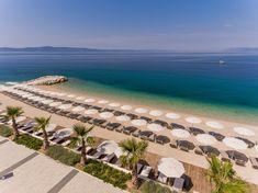 One of the most beautiful and best pebble beaches of the Makarska Riviera only 10 meters away https://www.medorahotels.com/en/auri-pools-beach/