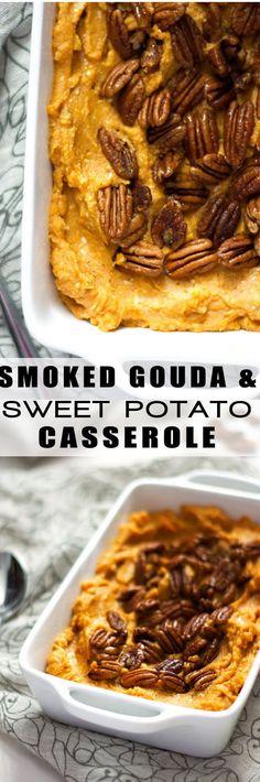 Best Sweet Potato Casserole   Healthy, Gluten Free, Paleo, Make Ahead, Pecans, Easy, Mashed, Healthy