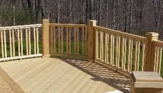 Double Vertical 2x2 Baluster Design