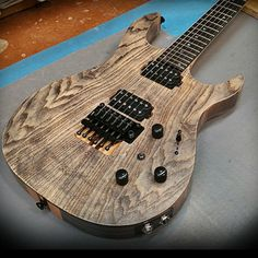 Who likes antique ash?  #KieselGuitars #CarvinGuitars #CustomShopPride #MadeinUSA #AmericanMade #MadeinAmerica #buyamerican #TheToneShop #guitars #luthier #artisan #usa #guitarporn #guitarsdaily #gearporn #gearpassion #music #guitarworld  #punkrock #metal #jam #jamming #rock #blues #jazz #leadguitar #Leadguitarist #guitarist