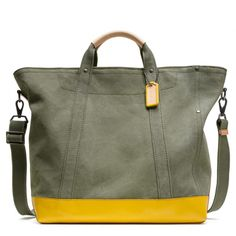 The Washed Canvas Beach Tote from Coach