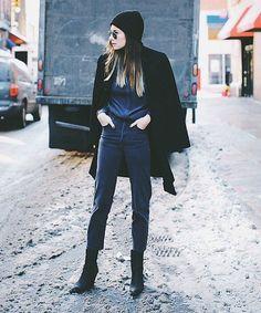 Χειμωνιάτικα looks με πρωταγωνιστή το σκούφο! - MaryMary.gr