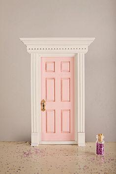 Tooth Fairy Door Deluxe Kit Do It Yourself By on Best Door Photos Collection 1595 Fairy Door Kit, Tooth Fairy Doors, Elf Door, Dear Parents, Fairy Crafts, Toy Rooms, Little Girl Rooms, Fairy Houses, New Room