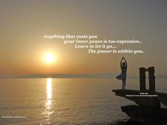 Sunrise Yoga by the Sea Sunrise Yoga, My Yoga, Inner Peace, Asana, Greece, Thoughts, Quotes, Greece Country, Quotations