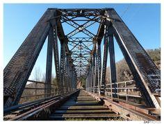 Puente sobre el Río Duero #Soria . Fotografía de @zasphotos