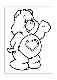 Disegni da colorare Gli orsetti del cuore 13