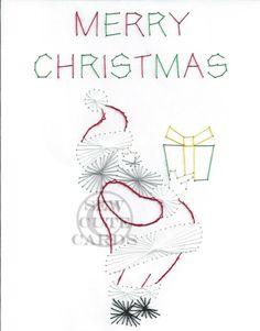 Custom Santa Presents by Sew Cute Cards www.facebook.com/sewcutecards http://sewcute.storenvy.com