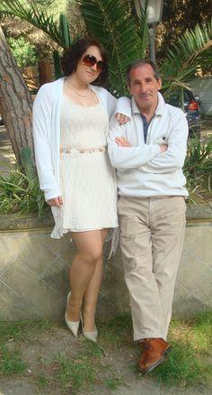 Foto ricordo con mia nipote Pamela. Foto scattata al ristorante Partenope. Varcaturo