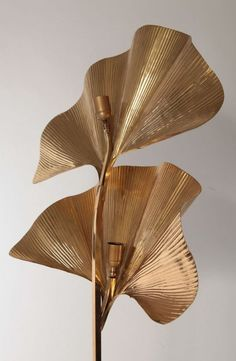 #lamp #gold #leaves