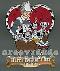 Walt Disney World Cast Member Trading Pin Mothers Day Nanny Dalmatians Dangle!