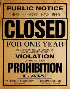US Government Prohibition Poster Reproduction Home Decor Retro Wall Art - Prohibition party - Etsy Speakeasy Decor, 1920s Speakeasy, Speakeasy Party, Gatsby Themed Party, Great Gatsby Party, Nye Party, 1920 Theme Party, 1920s Theme, Gold Party