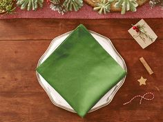 Publix DIY Christmas Tree Napkins