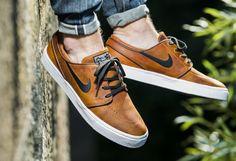Nike SB Stefan Janoski Elite Leather 'Ale Brown' (marron)
