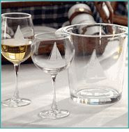Sailboat Glassware