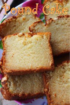 YUMMY TUMMY: Eggless Pound Cake Recipe / Cashew Pound Cake Recipe