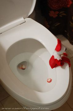 What? Doesn't your elf poop peppermints?
