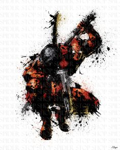 Deadpool silhouette 8 5 vinyl window decal available for 18 x 24 vinyl window