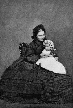 Crown Princess Victoria and Prince Wilhelm, 1860