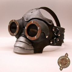 Air Centurion Steampunk pirate mask by GeahkBurchill on Etsy