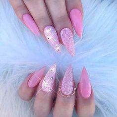 + 150 Trendy Acrylic Nails Designs 2018