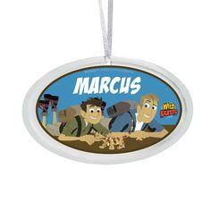 Wild Kratts Lizard Friend Ornament from PBS Kids Shop