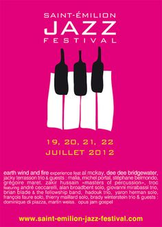 The historic medieval fortified city of Saint-Emilion, perched on its plateau of limestone and surrounded by its pretty patchwork of vineyards, is p reparing to resound with jazz music from the 18th to the 22nd of July. Grand crus will intermingle with great musicians to make the Saint-Emilion Jazz Festival a treat for both wine and music afichionados.