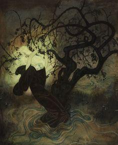 The Buried Moon, English Tale (1916) - Edmund Dulac