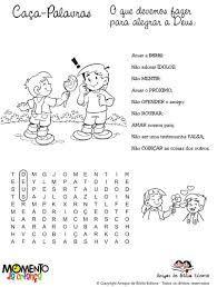 Resultado de imagem para atividades bíblicas para culto infantil