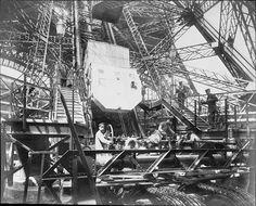 Tour Eiffel Ascenseur Roux, Combaluzier et Lepape - Eiffel Tower - Wikipedia, the free encyclopedia