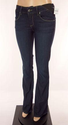 MATERNITY PAIGE New Laurel Canyon Jeans Size 27 Blue Boot Cut #Paige #BootCut