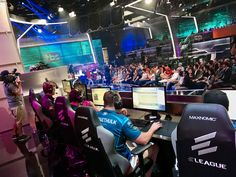 The Overwatch® Open tournament on September 30 at ELEAGUE arena based the new Blizzard Entertainment first-person shooter video game.