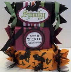 Halloween Candy Wrapper Treats